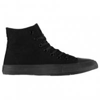 Adidasi inalti Lee Cooper Canvas Shoes pentru Barbati