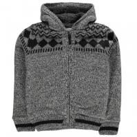 Jacheta Lee Cooper Fairisle cu captuseala tricot pentru baietei