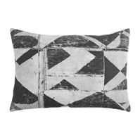 Linea Janice Monochrome Triangle Cushion Cover