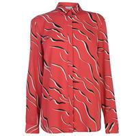 Linea Wave print woven top