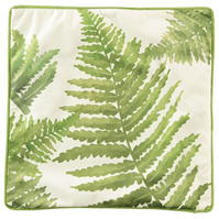 Linens and Lace Fern Leaves Cushion