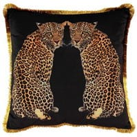Linens and Lace Leopards Cushion 94