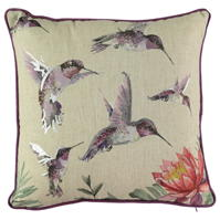 Linens and Lace Spring Birds Cushion