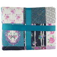 Linens and Lace Story Patchwork cu doua fete Printed Bed Spread