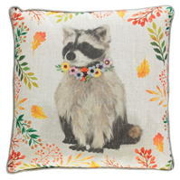Linens and Lace Woodland Animal Cushion