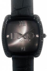Liu-jo Luxury Time Mod Screen Nero, Swarovski, Ip negru, 34mm, Wr 3atm