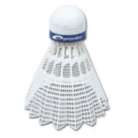 Set de 6 Fluturasi Badminton SPOKEY SHOOT albastru MEDIUM / 83436