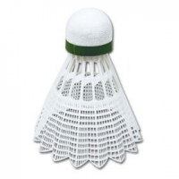 Set de 6 Fluturasi Badminton SPOKEY SHOOT verde SLOW / 83437