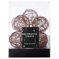 Lumina House of Fraser 10 Warm alb LEDs