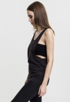 Maiouri largi simple dama negru Urban Classics