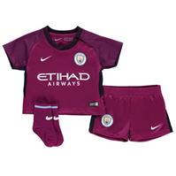 Nike Manchester City Away Kit 2017 2018 pentru Bebelusi