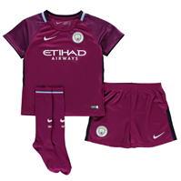 Nike Manchester City Away Mini Kit 2017 2018