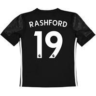 adidas Manchester United Away Rashford Shirt 2017 2018 pentru copii