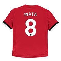adidas Manchester United Home Mata Shirt 2017 2018 pentru copii