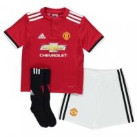 Set adidas Manchester United Home 2017 2018 pentru Bebelusi