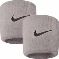 Mansete pentru tenis Nike Swoosh gri NNN04051