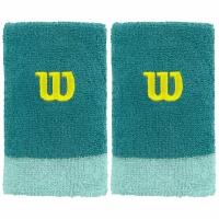 Set 2 Mansete pentru tenis Wilson Extra lat wide WRA733509