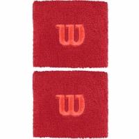 Mansete pentru tenis Wilson rosu WR5602014