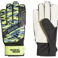 Manusi de Portar Adidas Predator antrenament Manuel Neuer galben albastru negru DY2623 pentru copii pentru femei