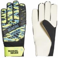 Manusi Portar Adidas Predator YP Manuel Neuer negru galben albastru DY2626 pentru copii