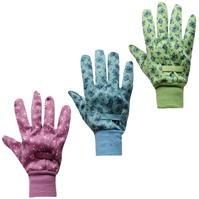 Manusi Set de 3 Briers bumbac Grip Gardening