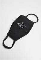 Masca fashion protectie Easy negru Mister Tee
