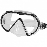 Masca Snorkeling Aquaspeed Kuma negru Col 07 femei