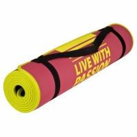 Saltea exercitii fitness SPOKEY FLEXMAT IV roz / galben 838319