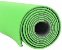 Saltea yoga SMJ 172x61x0,4cm verde / gri GBS 1413