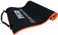 Saltea aerobic Profit 180x60x0.6cm negru portocaliu DK 705