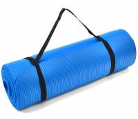 Saltea Profit Fitness Pro NBR albastru 180x60x1,5cm DK 2264