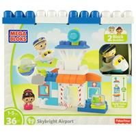 Mega Bloks 1st Building Airport93
