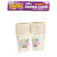 Mega Value Birthday Cups