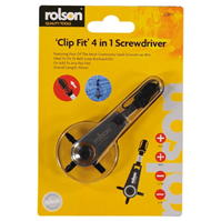 Mega Value Clip Fit Multi Screwdriver