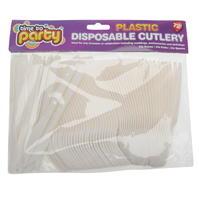 Mega Value Disposable Plastic Cutlery