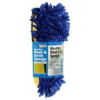 Mega Value Microfibre Wash and Scrub Sponge