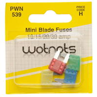 Mega Value Pearl Mini Blade Fuses