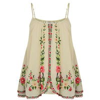 Mes Demoiselles Embroidered Camisole