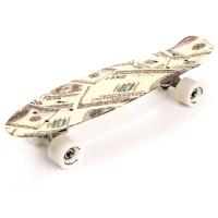 Placa skateboard METEOR multicolor banknotes 23876