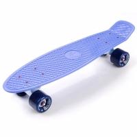 Skateboard METEOR PLASTIC blueberry 23998