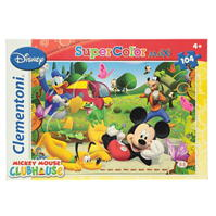 Clementoni Mickey Mouse Clubhouse Maxi 104 Piece Jigsaw Puzzle