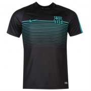 Tricou sport antrenament Minge de Fotbal Nike FB Barcelona Pre pentru Barbati