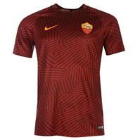 Tricou sport antrenament Minge de Fotbal Nike Roma Pre pentru Barbati