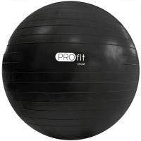 Minge fitness Profit 55cm negru cu A DK 2102 pompa
