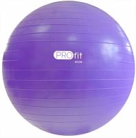 Minge fitness PROFIT 65 Cm Violet cu A pompa DK 2102