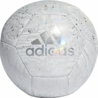 Minge fotbal Adidas Capitano alb gri DY2569 teamwear adidas teamwear