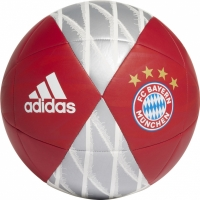Minge fotbal Adidas FC Bayern Capitano rosu alb DY2526 barbati