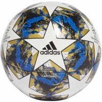 Minge fotbal Adidas Finale 19 Capitano alb-albastru-negru-gold DY2555