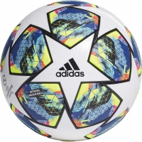 Minge fotbal Adidas Finale OMB alb-albastru-galben DY2560