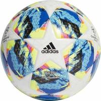 Minge fotbal Adidas Finale Top antrenament alb albastru galben DY2551 teamwear adidas teamwear